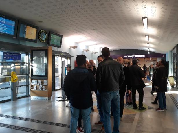 formation COSI SNCF visite terrain