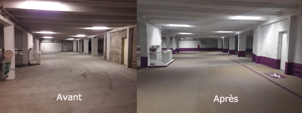 parking souterrain Bourg Saint Maurice BatiSafe