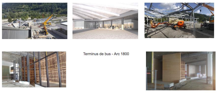 Terminus de bus Arc 1800